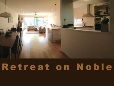 Photo for Retreat on Noble - quiet, close to town