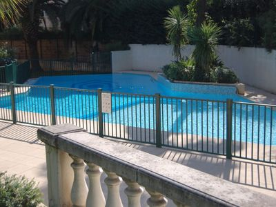 Photo for 2 BR with terrace, swimming pool & parking.