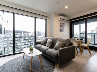 Photo for Docklands Urban Luxe Apartment MARVEL STADIUM