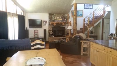 great room with everything, bbq out front deck, granite stainless steel kithchen