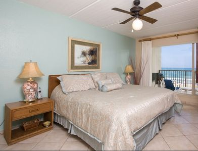 "Master Bedroom with Ocean View, 37"" LCD TV, DVD, Private Bath"