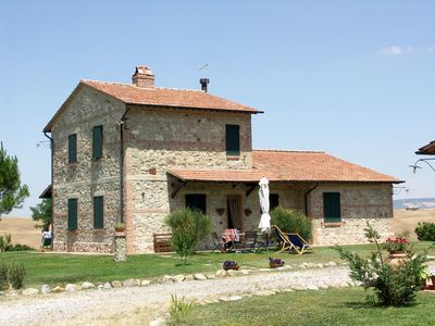 Photo for 6 bedroom Villa, sleeps 12 in Castiglione d'Orcia with Pool and WiFi