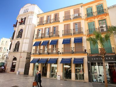 Photo for Apartment in the center of Málaga with Lift, Internet, Washing machine (87063)