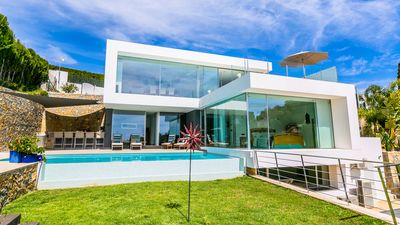 Photo for Stunning New Luxury Villa in Moraira with Sea Views