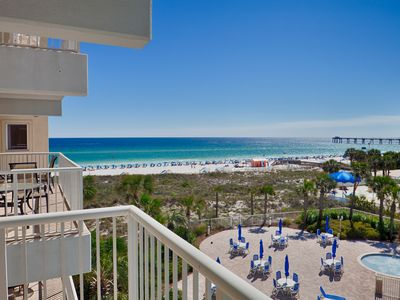 Photo for Destin West Gulfside 404 ~ Amazing Beach View ~ Free Beach Service ~ Designer Remodel ~ Must See!