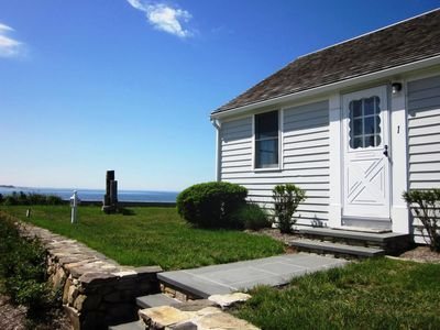 Photo for Waterfront Cottage Steps to Private Beach!