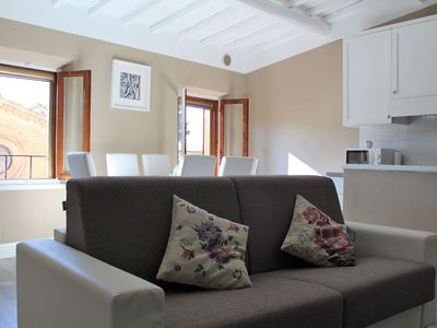 Photo for City / Village Apartment in San Gimignano with 1 bedrooms sleeps 4