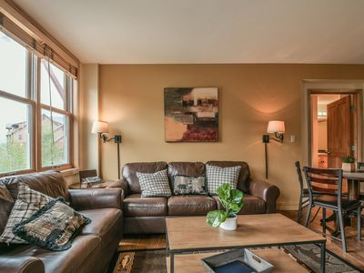 Photo for Families love this condo in the Village! Walk to the Gondola!