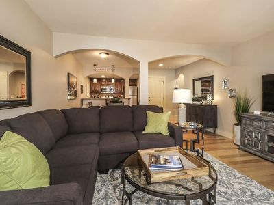 Photo for 11-1 Large 2 BR/2BTH. Awesome Plaza Location! Private balcony and parking.