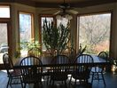 Large custom dining table hand built by a local craftsman