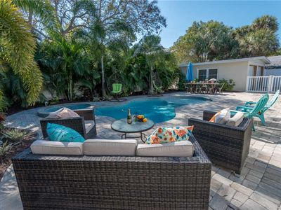 Photo for Gorgeous Pool and September Discounts at Beach Hideaway: 3 BR / 2 BA