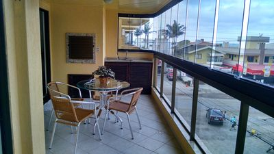Photo for Great apartment in Bombas - located on the promenade overlooking the sea