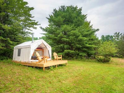 Photo for Tentrr - Pleasant Valley Maplecroft Camp