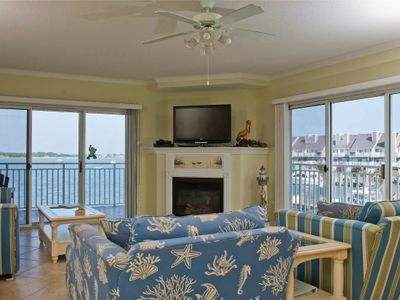 Photo for Gorgeous Bayfront Near Boardwalk - Wi-Fi, Pool & Sunsets!
