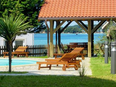 Photo for Seaside family friendly house with a swimming pool Kampor, Rab (K-3216)