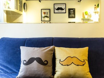 Photo for Mustache 俏鬍子 house@ Ximending(2~4人)
