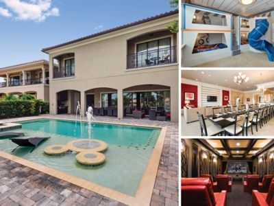 Photo for 8,000 sq. ft Home with Golf Views, Theater Room & Custom Games Room