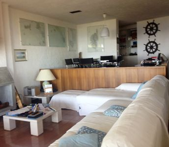 Photo for Stunning apartment with view and access to the sea