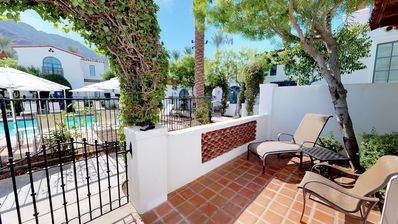 Photo for A Fully Remodeled One Bedroom, Two Bath Spa Villa in a Secluded Location!