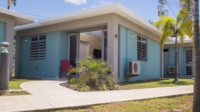 Photo for Immaculate one bedroom, house, steps from the beach, everything you need