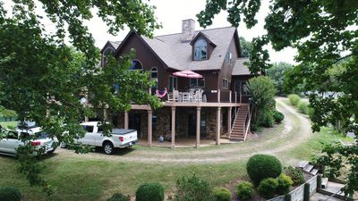 Photo for NEW RENTAL LISTING, Waterfront Dream Vacation, 2 King Suites/3 Full & Bunk Set