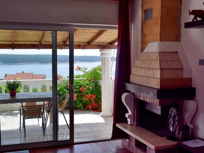 Photo for Villa Agata with 2 apartments garden near sandy beaches, sauna in the garden incl.