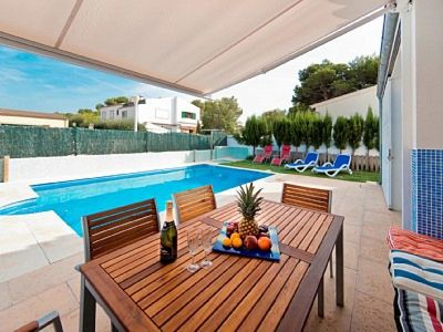 Photo for DOMUS GENTI. Chalet in Son Serra de Marina. Satellite TV. BBQ Private pool.  Mallorca -66899- - Free Wifi