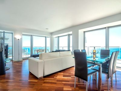 Photo for 888 Beachfront Apartment w/Pool & Terrace II