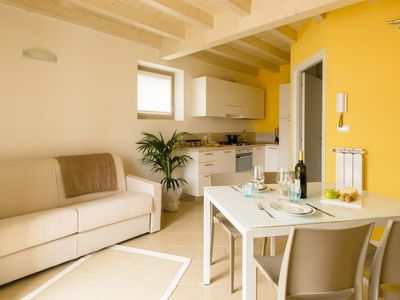 Photo for Apartment in the center of Fonteno with Internet, Pool, Washing machine (486813)