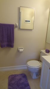 Full bathroom attached to the second bedroom