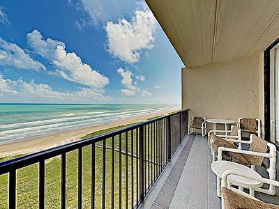 Photo for New Listing! Penthouse Paradise: Beachfront Unit 1202 w/ Front-Row Gulf Views