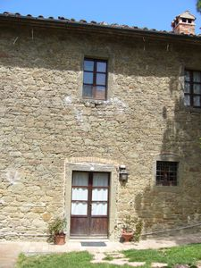 "Photo for FLAT TOP 2, garden, overlooking the lake Trasimeno, on a farm ""THE SUMMIT"""