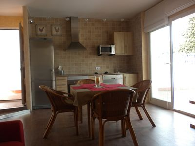 Photo for APARTMENT WITH TERRACE 200 METERS FROM THE BEACH