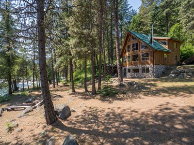 Photo for Beautiful Riverfront Home-Quiet and Private-Leavenworth-Family Friendly-WI-FI