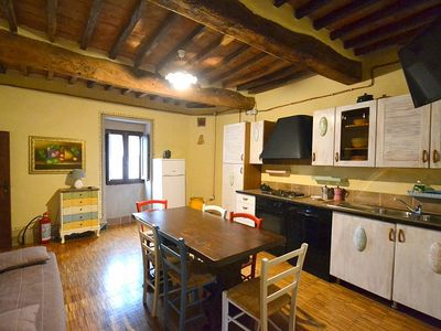 Photo for Casa Almo A: A welcoming apartment that is part of an ancient historic building, with Free WI-FI.