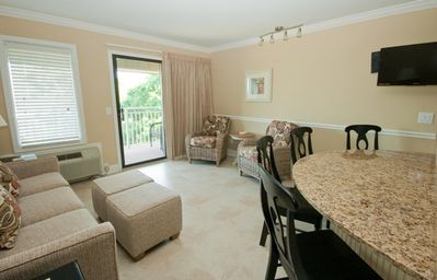 Photo for Ocean Dunes 420 Ocean front newly renovated villa close to Coligny & dining