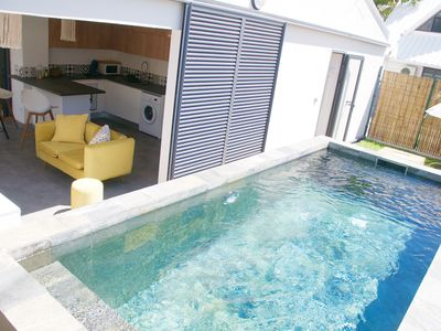 Photo for Beautiful luxury villa, swimming pool, garden, 2 steps from the sea