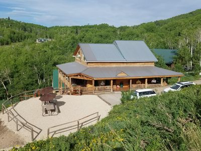 SilverCrest Lodge & Bunk House (green roof)
