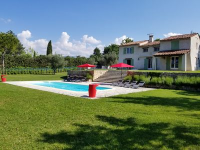 Photo for Fabulous house set in large grounds with private swimming pool.