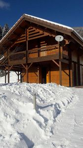 Photo for Quiet cottage ** 2 stars .... 10 km from the lake gerardmer