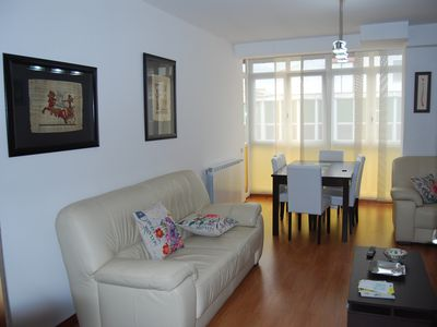 Photo for DOWNTOWN, MODERN, EQUIPPED AND COMFORTABLE APARTMENT 100 M2. GARAGE OPTION