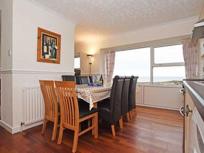 Photo for Location, Location, Location!!  Stunning Sea Views from first floor living Accom
