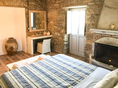 Photo for Amorgos Katapola beach studio, 5 min to port