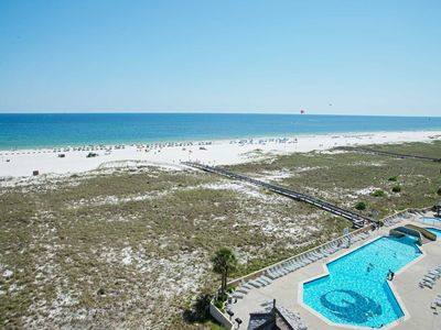 Photo for East corner condo ~ Gulf Front ~ 3 Bedroom ~ Sleeps 10 ~ Great Amenties