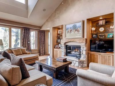 Photo for Slopeside Access + Fireplace | ALL Resort Fees Included!
