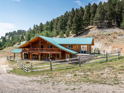 Photo for Duck Creek Ranch - Privacy in a Custom Log Home on 400 Acres