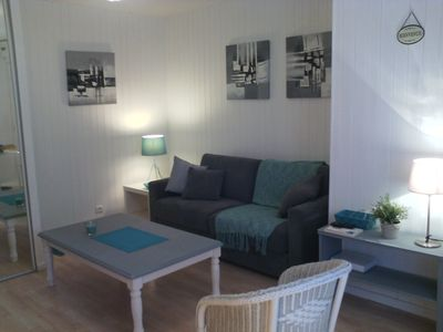 Photo for T1 bright Saint Malo, Solidor seaside - free parking