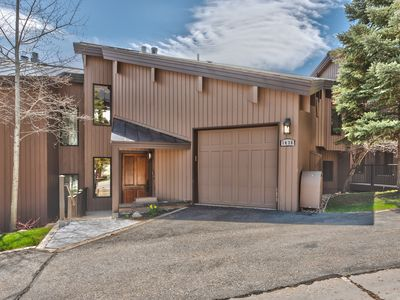 Photo for Stunning Deer Valley VRBO Townhome! Hot Tub and 1 mile from Main St!