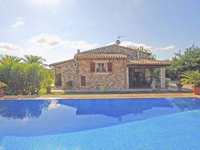Photo for MAVI - Country house with swimming pool between Selva and Campanet