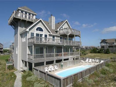 Photo for OCEANFRONT; gorgeous views w/Pool&HotTub, PoolTable